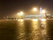 Tin tức trong ngày - Mưa kỷ lục ở TP.HCM: Sân bay Tân Sơn Nhất ngập sâu 30cm