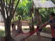 Video Clip Cười - Cười rớt hàm với những tai nạn cùng võng