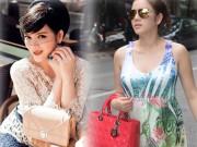 Thời trang - Phát hờn với bộ sưu tập túi hiệu khổng lồ của Lý Nhã Kỳ