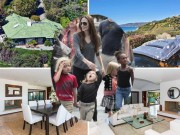 Phim - Choáng với biệt thự triệu đô 7 mẹ con Angelina Jolie đang ở