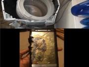 Công nghệ thông tin - Sau Note7 đến máy giặt Samsung phát nổ