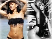 Bí mật hình thể 3 vòng sexy 87-61-92 cm của Rihanna