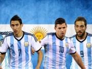 Bóng đá - Argentina hội quân: Aguero, Higuain thế vai Messi