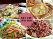 Ẩm thực - Giảm nhiệt ngày nóng với thực đơn cơm chiều thanh mát