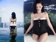 Bạn trẻ - Cuộc sống - Tâm Tít khoe đường cong nuột nà với bikini