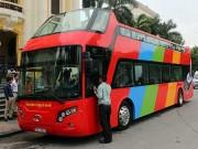 Điều chưa tiết lộ về xe buýt mui trần của Hà Nội