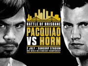 Thể thao - Chi tiết boxing Pacquiao - Jeff Horn: Vỡ òa sau 12 hiệp (KT)