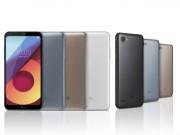 CHÍNH THỨC: LG Q6 ra mắt với 3 tùy chọn, cấu hình tầm trung