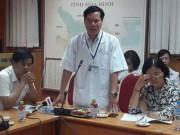 Tin tức trong ngày - Chạy thận 8 người chết: Giám đốc bệnh viện xin từ chức
