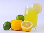 Sức khỏe đời sống - Cách uống nước chanh làm tiêu sỏi thận đơn giản, không đau đớn