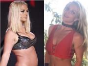"""Ai ngờ  """" gái béo """"  Britney Spear cũng có lúc lại cực thon thả"""