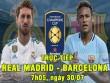 Chi tiết Real Madrid - Barcelona: Tay trắng ra về (KT)