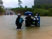 Bão số 4 suy yếu, Thanh Hóa - Thừa Thiên Huế tiếp tục có mưa to