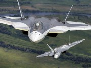 Thế giới - Nga muốn thống trị bầu trời bằng chiến cơ Su-57