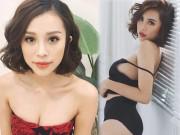 """Đẫy đà mơn mởn, hot girl Quảng Ninh vẫn bại dưới tay  """" cô gái chân khoèo """""""