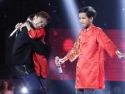"""Soobin Hoàng Sơn  """" phát cuồng """"  vì thí sinh 14 tuổi hát dân ca"""