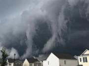 Phi thường - kỳ quặc - Video: Đám mây khổng lồ che phủ bầu trời như ngày tận thế