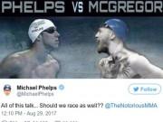 M.Phelps đua với cá mập, đấu McGregor: Khán giả sốc lần 2