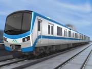Tin tức trong ngày - Lộ diện mẫu thiết kế tàu metro Sài Gòn mô phỏng đầu máy bay