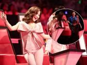 Hương Tràm nhún nhảy cuồng nhiệt, phá lệ hát cùng học trò The Voice Kids