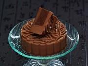 Bánh Trung thu thạch socola nutella sang chảnh cho các tín đồ hảo ngọt