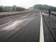 Tin tức trong ngày - Nứt cao tốc dài nhất VN: Đã phát hiện trước khi thông xe