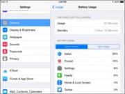 Công nghệ thông tin - Cách tìm ứng dụng gây tốn pin trên iPhone, iPad