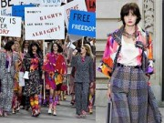 Thời trang - Dàn chân dài của Chanel hăng hái biểu tình