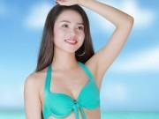 Thời trang - Ứng viên Hoa hậu Việt Nam 2014 khoe dáng ngọc