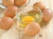 Sức khỏe đời sống - Cách đơn giản làm đẹp da với trứng gà