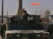 Video An ninh - Đánh bom liều chết vào xe quân đội Afghanistan