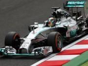 Thể thao - Chạy thử Japanese GP: Mercedes thống trị