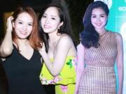 Đan Lê, Quỳnh Nga, Tâm Tít hút mắt trong đêm Hà Nội