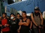 Hong Kong: Người biểu tình đụng độ hội Tam Hoàng