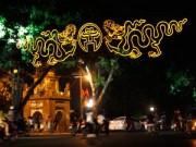 Tin tức trong ngày - Hồ Gươm rực sáng mừng kỉ niệm 60 năm giải phóng Thủ đô