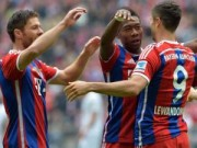 Bóng đá - Bayern – Hannover: Song tấu Lewandowski – Robben
