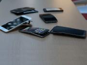 """Thời trang Hi-tech - Galaxy Note 3 chịu lực tốt nhất, iPhone 6 Plus không hề... """"mềm"""""""