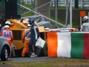 Thể thao - Tay đua F1 nguy kịch vì tai nạn kinh hoàng