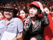 Ca nhạc - MTV - MC Thúy Miêu đội mũ bảo hiểm, chê Đan Trường tơi tả