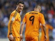 Bóng đá - Tin HOT tối 6/10: Ronaldo hài lòng với Benzema