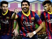"""Bóng đá Tây Ban Nha - Barca chờ """"bộ 3 nguyên tử"""" ra mắt để đối phó CR7"""