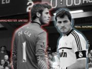 Bóng đá - De Gea đọ tài Casillas: Kẻ tám lạng, người nửa cân