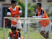 """Bóng đá - U-19 VN chuẩn bị VCK U19 châu Á: """"Tử huyệt"""" hàng thủ"""