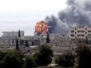 Tin tức trong ngày - Mỹ ném bom dữ dội xuống IS bao vây thị trấn biên giới