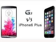 Thời trang Hi-tech - iPhone 6 Plus và LG G3: Mèo nào cắn mỉu nào?