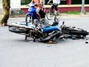 Video An ninh - Xe máy đối đầu trong đêm, 5 người thương vong