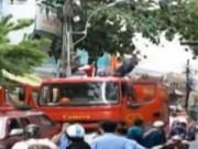 Video An ninh - Clip: Cháy quán cafe, du khách nước ngoài chết ngạt