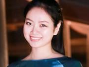 Thời trang - Hoa hậu Ngọc Anh duyên dáng với áo dài khảm trai