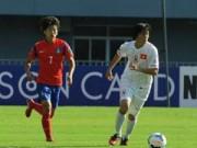 Bóng đá - U19 VN: Mừng hụt với cú đánh đầu chạm xà ngang