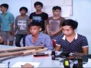 Video An ninh - Khánh Hòa: Bắt nhóm giang hồ đâm thuê, chém mướn